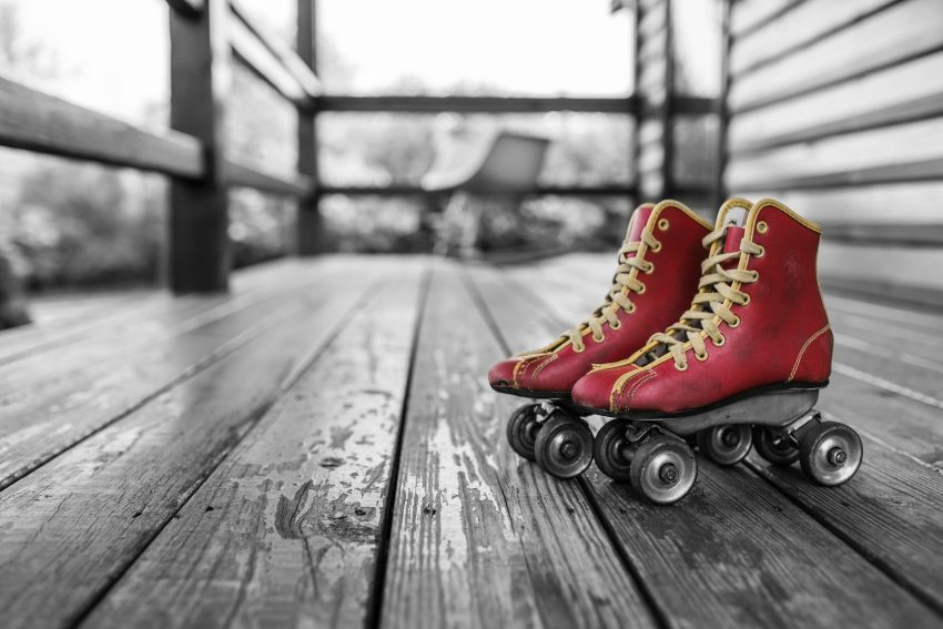 Photo of a pair of skates